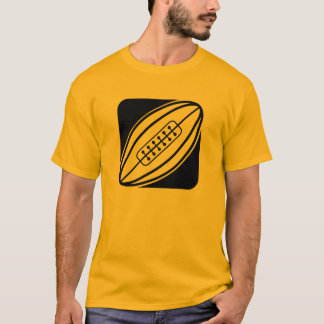 Yellow Orange Rugby T-Shirt
