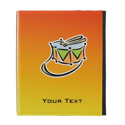 Yellow Orange Snare Drum iPad Folio Covers