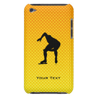 Yellow Orange Speed Skater Barely There iPod Covers