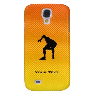 Yellow Orange Speed Skater HTC Vivid / Raider 4G Case
