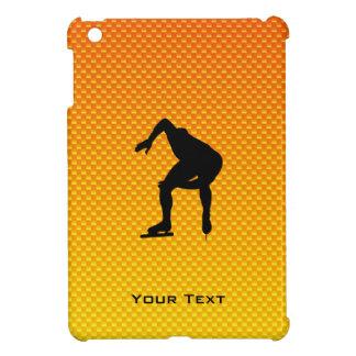 Yellow Orange Speed Skater iPad Mini Cover