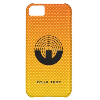 Yellow Orange Sport Shooting iPhone 5C Cases