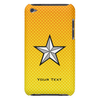 Yellow Orange Star Barely There iPod Covers