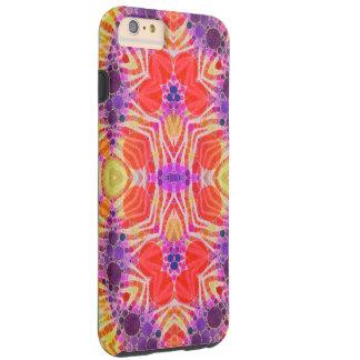 Yellow Orange Zebra Funk Tough iPhone 6 Plus Case