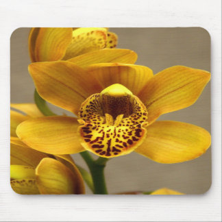Yellow Orchid mousepad