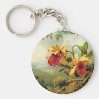 Yellow Orchids Key Ring
