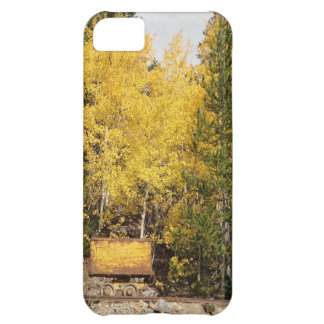 yellow ore cart iPhone 5C cases