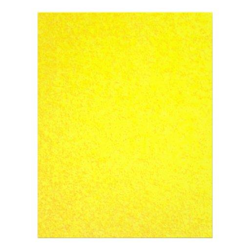 Yellow outside flyer