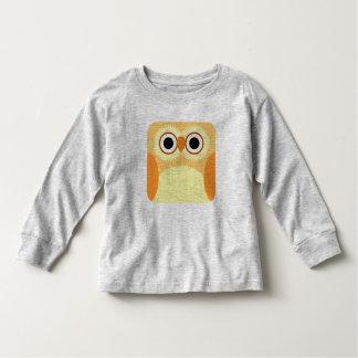 Yellow Owl Square Shirt