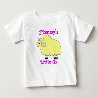 Yellow Ox with Curled Horns Baby T-Shirt