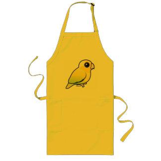 Yellow Pacific Parrotlet Long Apron
