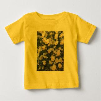 Yellow Pansies Baby T-Shirt
