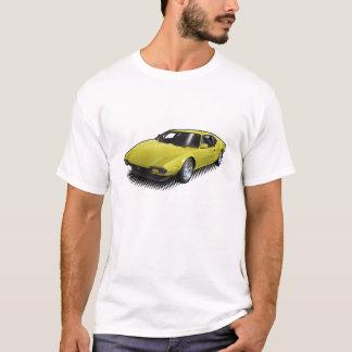 Yellow Pantera on White T-Shirt