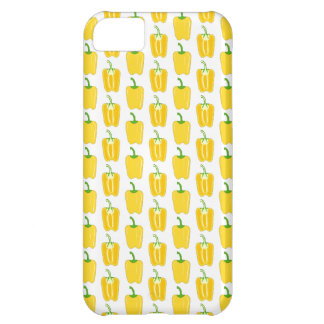 Yellow Pattern of Peppers. iPhone 5C Case