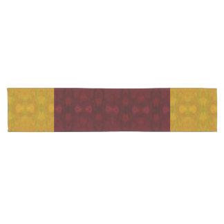 Yellow Pattern Table Runner