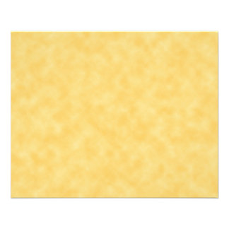Yellow Patterned Background Flyer
