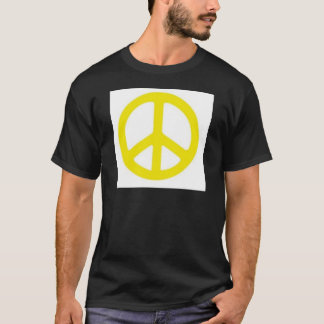 YELLOW PEACE SIGN :-) T-Shirt