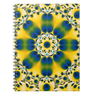 Yellow Peacock Notebook