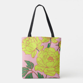Yellow Peonies #2 Tote Bag
