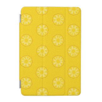Yellow Pineapple Slices Pattern iPad Mini Cover