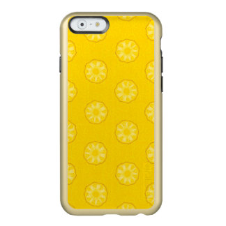 Yellow Pineapple Slices Pattern Incipio Feather® Shine iPhone 6 Case