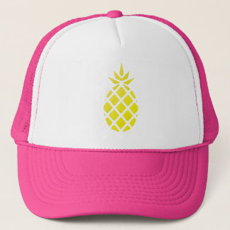 Yellow Pineapple Trucker's Hat