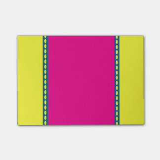 Yellow, Pink, and Blue Post It Note Post-it® Notes
