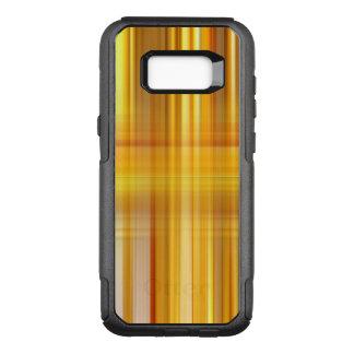 Yellow Plaid OtterBox Commuter Samsung Galaxy S8+ Case