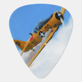 Yellow Plane Guitar Pick