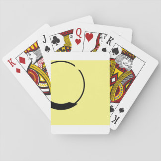yellow playing cards