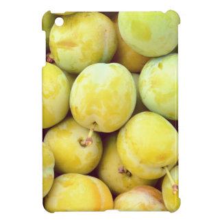 Yellow plums macro iPad mini covers