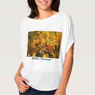 Yellow Poinciana Tree T-Shirt