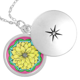 YELLOW POINSETTIA Necklace