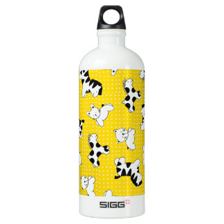 Yellow Polka Dot Baby Animals SIGG Traveller 1.0L Water Bottle
