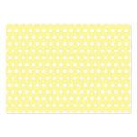 Yellow polka dots pattern. Spotty. Business Card Templates