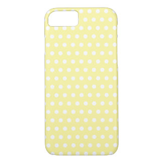 Yellow polka dots pattern. Spotty. iPhone 8/7 Case