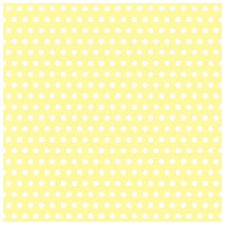 Yellow polka dots pattern. Spotty. Photo Sculpture Magnet