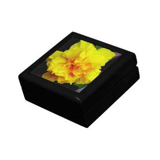 Yellow pomegranate flower gift box