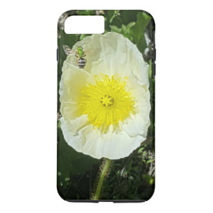 Yellow Poppy and Green Bee Tough I Phone Case