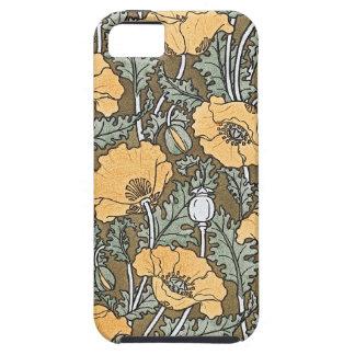 Yellow Poppy iPhone 5 Case