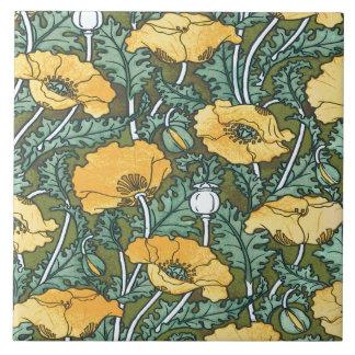 Yellow Poppy Tile