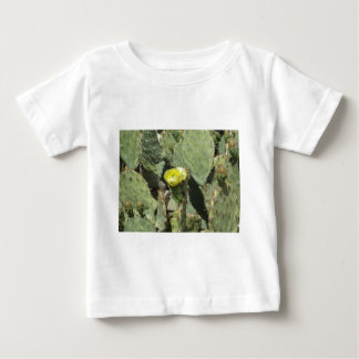 Yellow Prickly Pear Blossom Baby T-Shirt