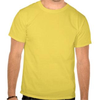 Yellow Print Tuxedo T-shirt