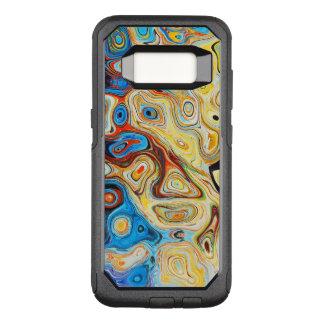 Yellow Psychadelic OtterBox Commuter Samsung Galaxy S8 Case