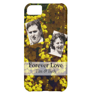 Yellow Purse Flowers Cover For iPhone 5C