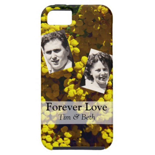 Yellow Purse Flowers iPhone 5 Cover