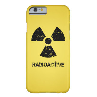 Yellow Radioactive Symbol Barely There iPhone 6 Case
