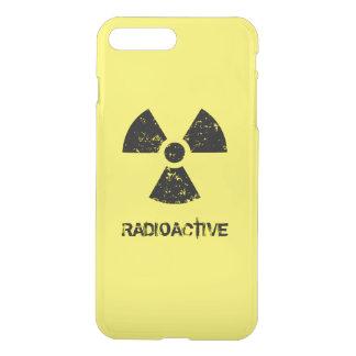 Yellow Radioactive Symbol iPhone 7 Plus Case