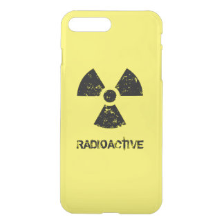 Yellow Radioactive Symbol iPhone 8 Plus/7 Plus Case