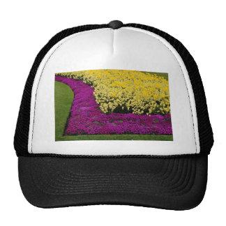 yellow Rainbow flowerbeds flowers Trucker Hat